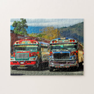 Puzzle Término de autobuses Antigua