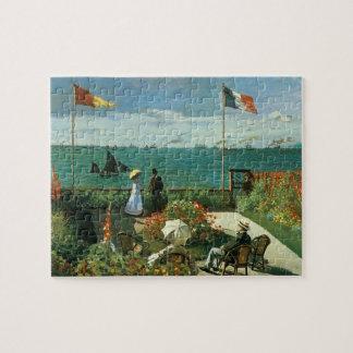 Puzzle Terraza en la playa de Claude Monet