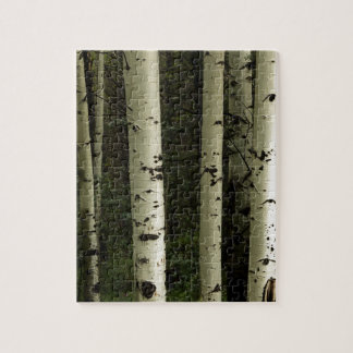 Puzzle Textura de un retrato del bosque