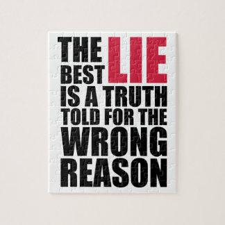 Puzzle The Best Lie