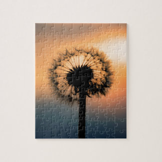 Puzzle The Sunset and the Fragile Dandelion