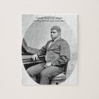 """Puzzle Thomas """"Tom ciego"""" Wiggins, 1860"""