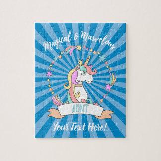 Puzzle Tía maravillosa mágica - princesa del unicornio