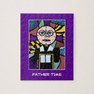 Puzzle Tiempo del padre - el tiempo junta las piezas de