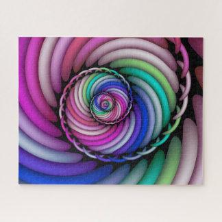 Puzzle Tienda espiral del caramelo del fractal