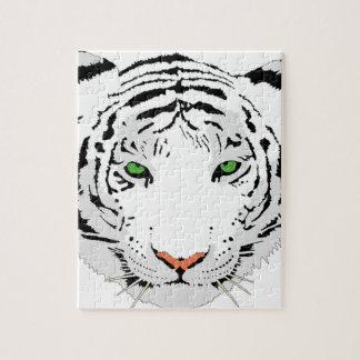 Puzzle Tigre de encargo personalizado de la nieve