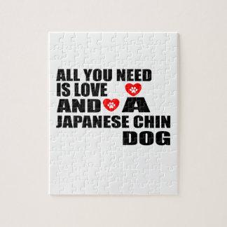 Puzzle Todos usted necesita diseños de los perros de CHIN