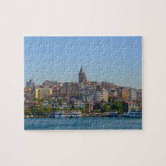 Puzzle Torre de Galata en Estambul Turquía