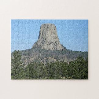 Puzzle Torre de los diablos, Wyoming