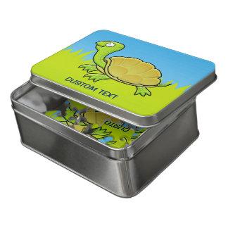 Puzzle Tortuga del dibujo animado