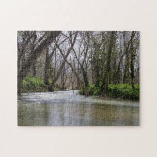 Puzzle Tranquilidad de Finley en tiempo de primavera