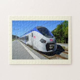 Puzzle Tren local de la SNCF