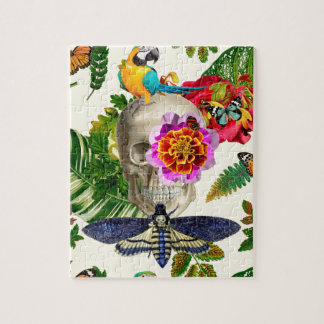 Puzzle Tropical Skull