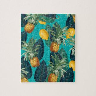 Puzzle trullo del pineaple y de los limones