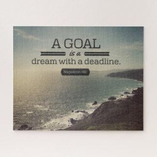 Puzzle Un sueño con un plazo