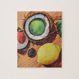 Puzzle Unidad del coco del limón de la cal de StBerry