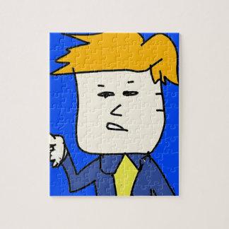 Puzzle usted es muchacho encendido del dibujo animado