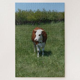 Puzzle Vaca en el pasto