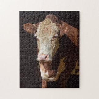 Puzzle Vaca gruñona