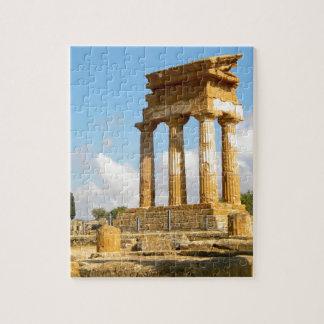 Puzzle Valle de los templos Sicilia