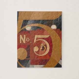 Puzzle Véase el cuadro 5 en oro