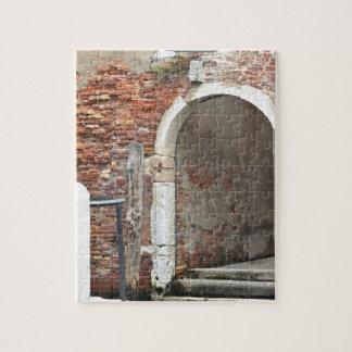 Puzzle Venecia vieja romántica