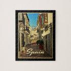 Puzzle Viaje del vintage de España