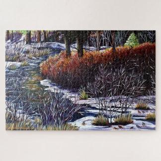Puzzle Vida a lo largo de The Creek