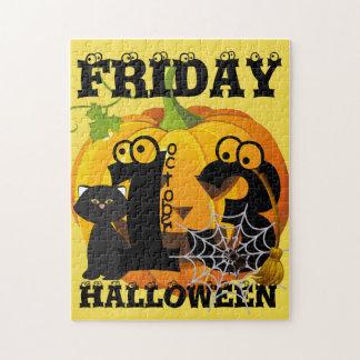 Puzzle Viernes 13 Halloween