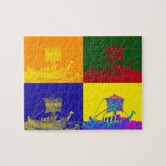 PUZZLE VIKINGOS FRESCOS: POP