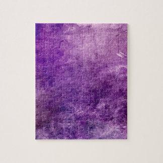 Puzzle Violeta abstracta