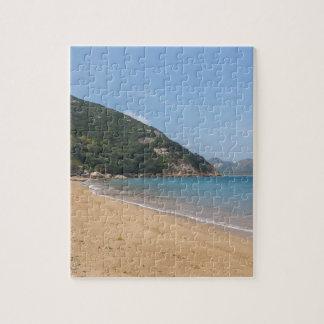 Puzzle Vista panorámica de la isla pálida de Sok Kwu