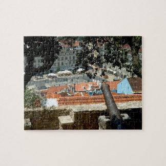 Puzzle Vista panorámica de Lisboa céntrica