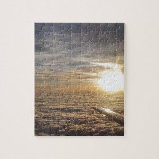 Puzzle vuele los cielos divinos
