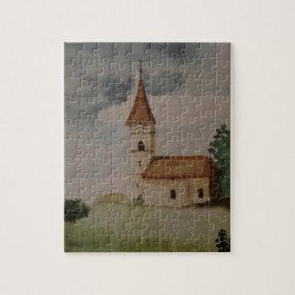 Puzzle Watercolour medieval inglés encantador de la