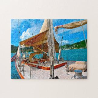 Puzzle Yates de la navegación de Antigua
