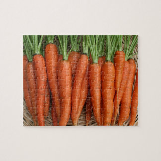 Puzzle Zanahorias frescas de la herencia del jardín