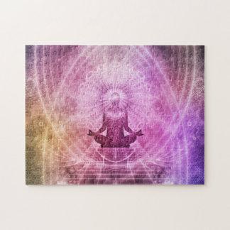 Puzzle Zen espiritual de la meditación de la yoga