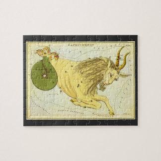 Puzzle Zodiaco de la constelación del Capricornio de la