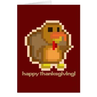 PXL Turquía agradece la tarjeta en blanco