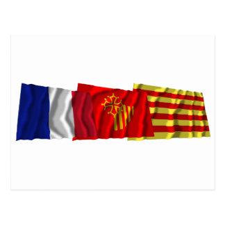 Pyrénées-Orientales, Languedoc-Rosellón y Francia Postal