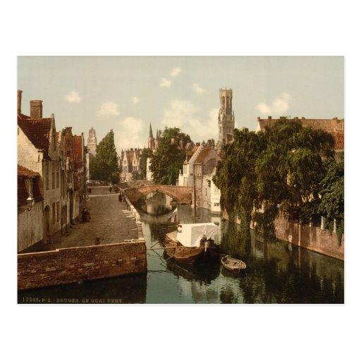 Vintage tarjetas postales belton chalet