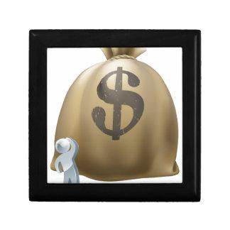 Qué a hacer con su concepto del dinero caja de recuerdo