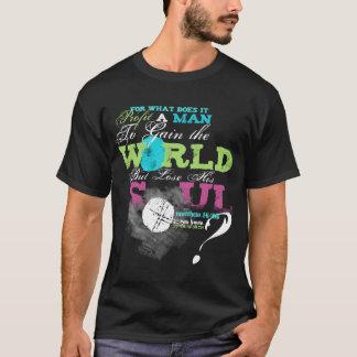 ¿Qué beneficia a un hombre? Camiseta del 16:24 de