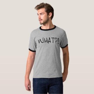 ¡Qué?! Camiseta