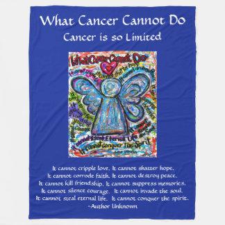 Qué cáncer no puede hacer la manta del