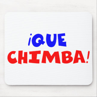 QUE CHIMBA ALFOMBRILLA DE RATÓN