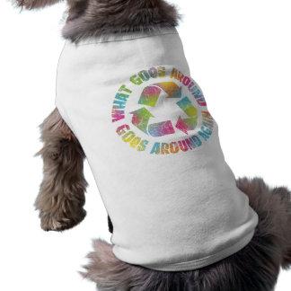Qué circunda camiseta de perrito