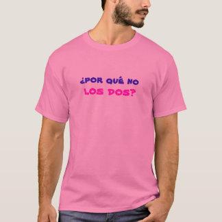 ¿qué del por del ¿ningún DOS del los? Camiseta