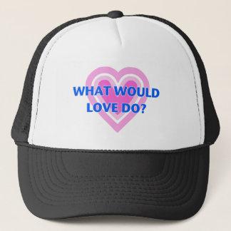 ¿Qué el amor haría? Gorra De Camionero